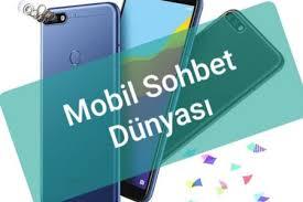 mobil sohbet dünyası gonulsohbet